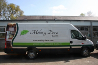 One of our vehicles fully liveried.