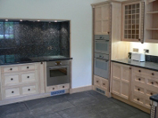 Same style as the previous kitchen but made in Sycamore.